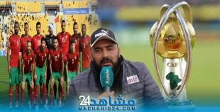 """بالفيديو.. الخال لمشاهد24: ثقتنا كبيرة في فوز منتخب المحليين """" بالشان """" في الكاميرون"""
