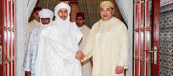 الملك محمد السادس: إرادة المغرب قوية في مواصلة العمل لحل الأزمة في مالي
