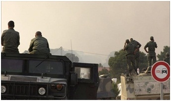 الجيش التونسي يقصف مواقع في جبل الشعانبي