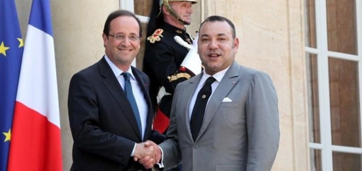 هولاند: دور العاهل المغربي مكن من تطوير مفهوم السلم والتسامح في البلدان