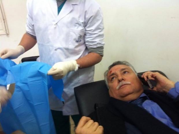 رشق الوزير نبيل بنعبد الله  بالحجارة في آسا الزاك