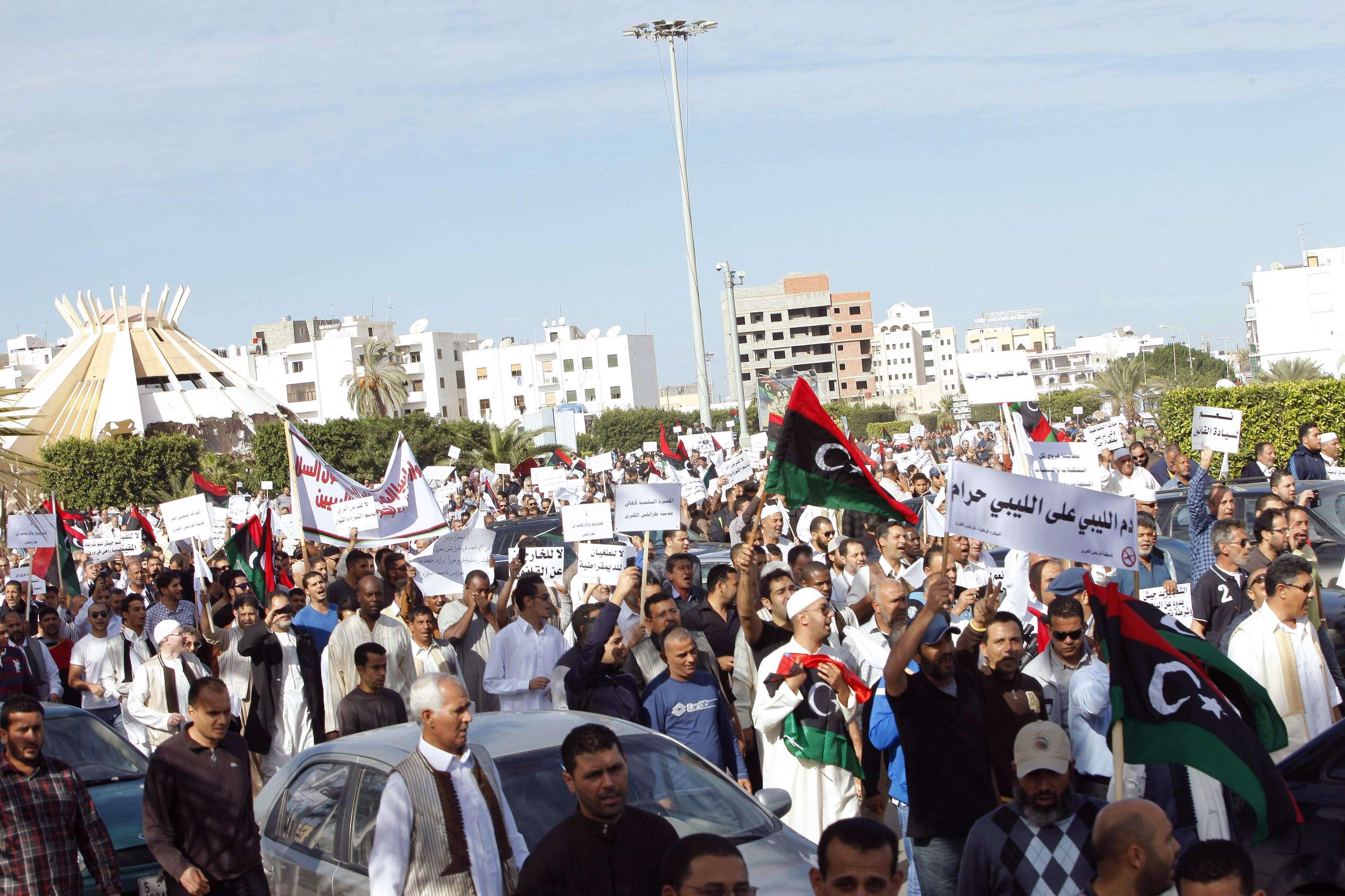 هيومان رايتس واتش: ليبيا عاجزة عن إرساء سيادة القانون وحماية حقوق المواطنين