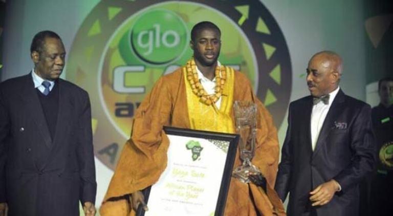 يحيى توري أفضل لاعب افريقي في سنة 2013