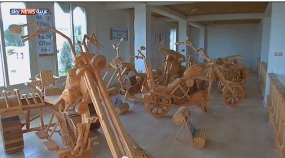 دراجات هارلي دافيدسون خشبية