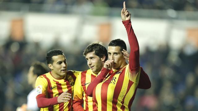 تيلو يقود برشلونة لفوز عريض على لفانطي