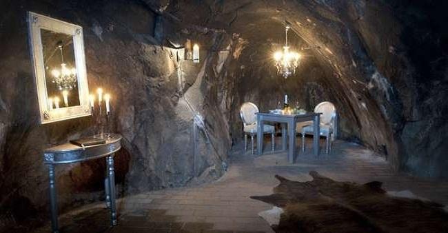 فندق تحت الأرض