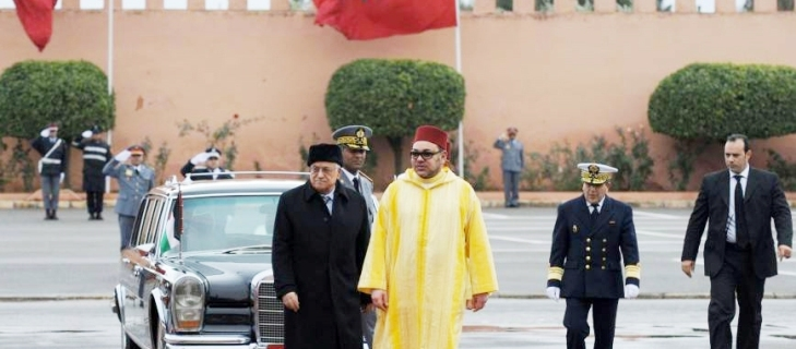 العاهل المغربي: اجتماعنا اليوم يعد رسالة للعالم بأننا أمة متعلقة بالسلام