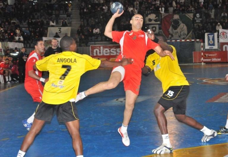 المنتخب المغربي لكرة اليد ينهزم أمام أنغولا
