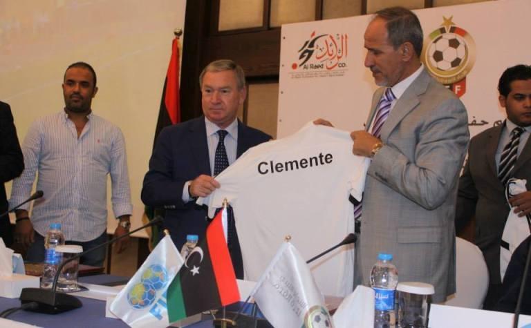 كليمانتي يسعى لتأهيل المنتخب الليبي لنصف نهائي الشان