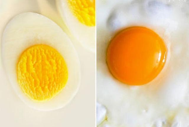 اعرفي أين فائدة البيض ... المقلي أو المسلوق؟