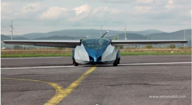 سلوفاكي يصمم سيارة طائرة