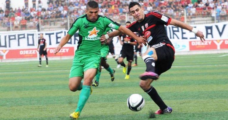الدوري الجزائري من دوري المحترفين  الى