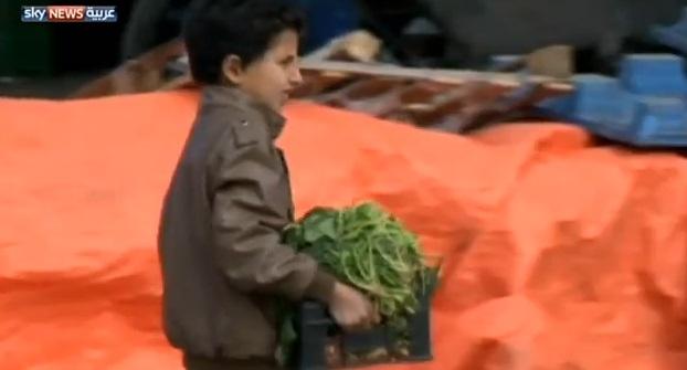 عمالة الأطفال بمخيمات اللاجئين السوريين