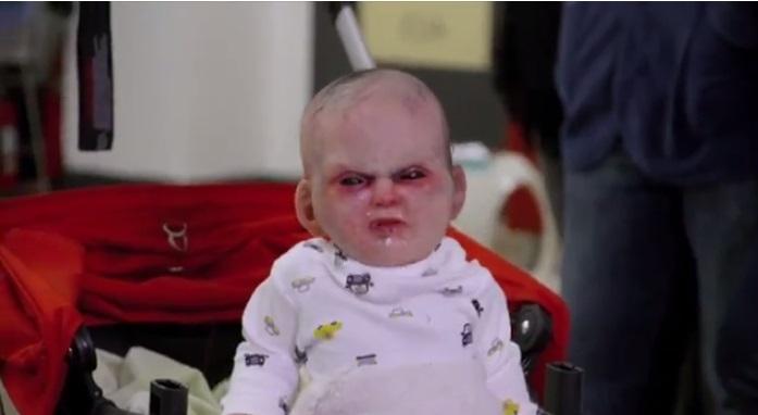 طفل يفزع سكان نيويورك