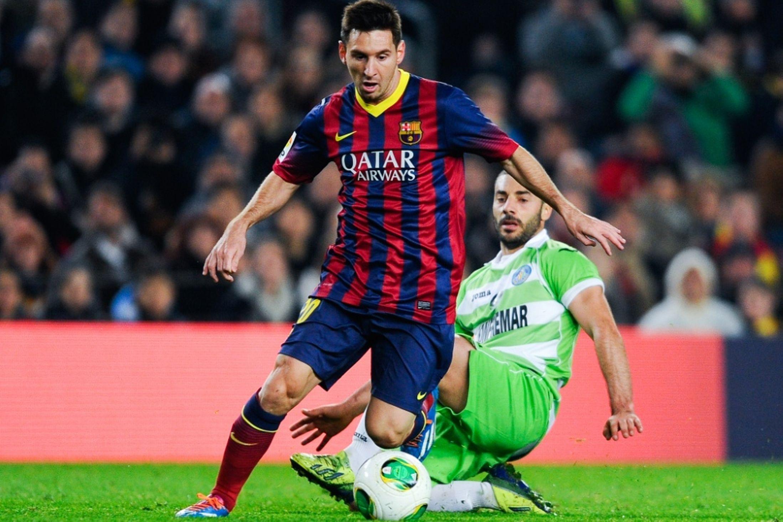 برشلونة يتفوق على خيتافي