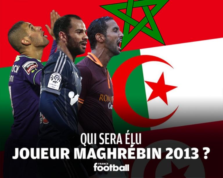 تسعة لاعبين في سباق أفضل لاعب في المغرب العربي