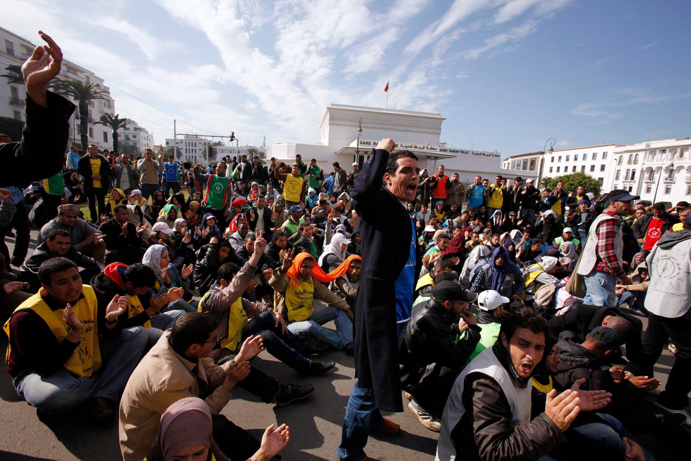 توقع ارتفاع معدل البطالة في المغرب في 2014