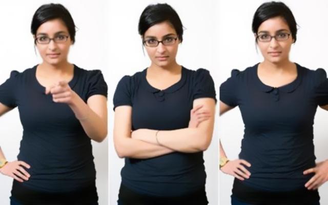 حركات لا ارادية مهمة خلال تحدثك