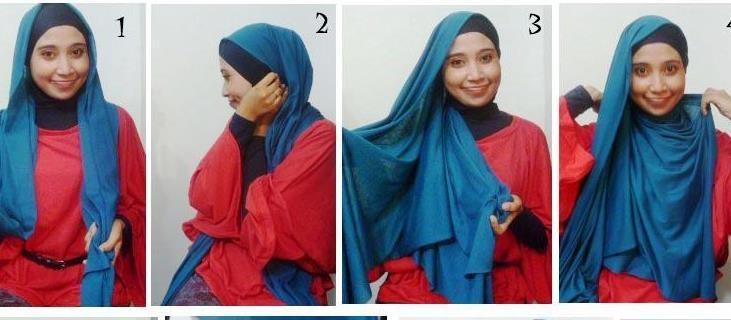 احدث لفات حجاب 2014 جمال وشياكة