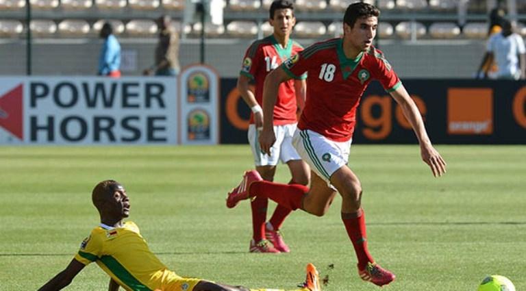 تشكيلة المنتخب المغربي  المحلي أمام نجيري