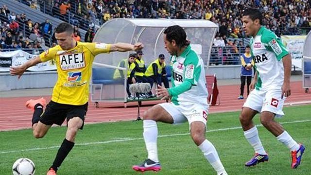 الرجاء تعود لمسابقة الدوري المغربي أمام الفتح الرباطي