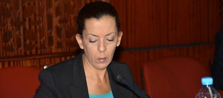 البرلمانية  المغربية فتيحة العيادي تتضامن باسم فريق