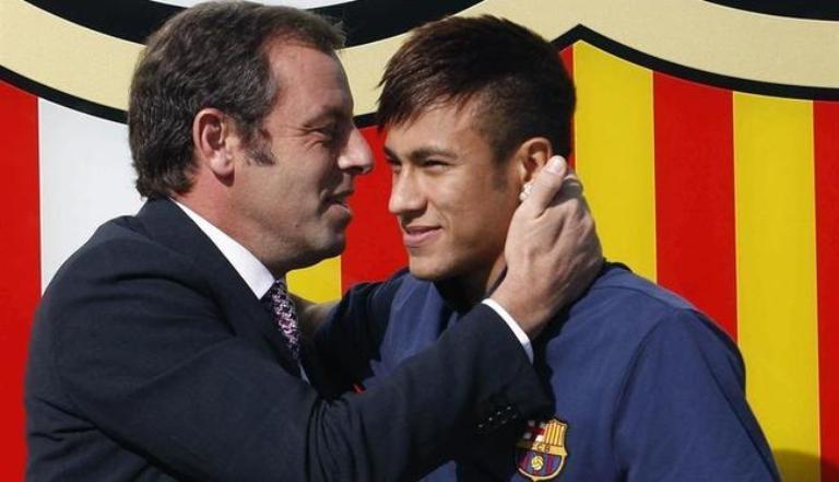فضيحة تربك برشلونة بسبب صفقة نيمار
