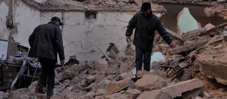انهيار مسكن بالدار البيضاء كان آيلا للسقوط