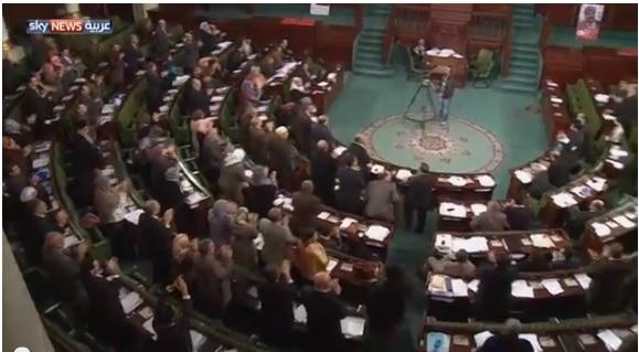 انتهاء جلسات التصويت على دستور تونس