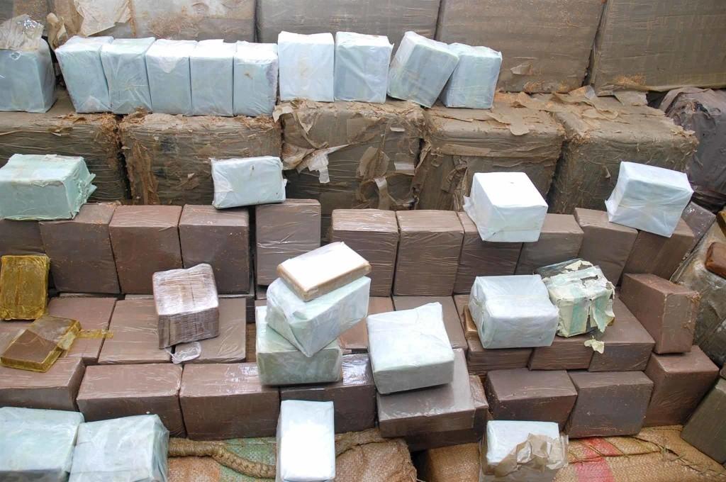 مخدرات مهربة من الجزائر