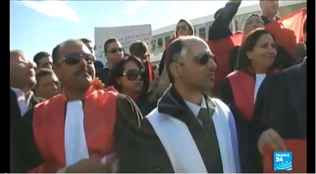 المطالبة باستقلال القضاء في تونس