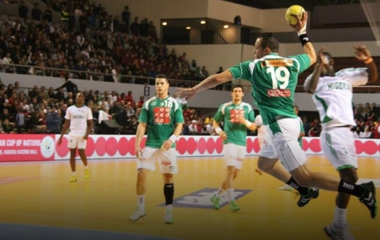 الجزائر وتونس ومصر في نصف نهائي بطولة افريقيا لليد