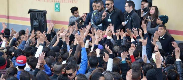 الشباب المغربي يتهافت بكثرة على المشاركة في برنامج أراب أيدول بالدار البيضاء