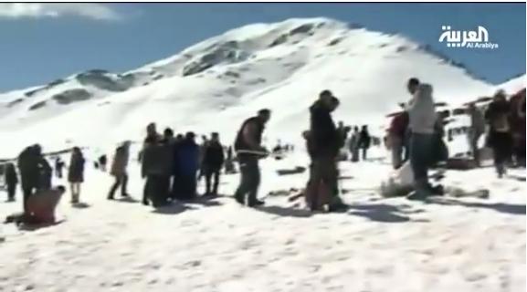 منتجع التزلج أوكيمدن بضواحي مراكش