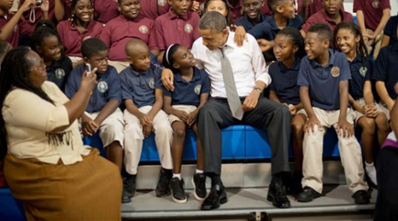 أوباما يطلق مبادرة شخصية لفائدة أطفال الأقليات
