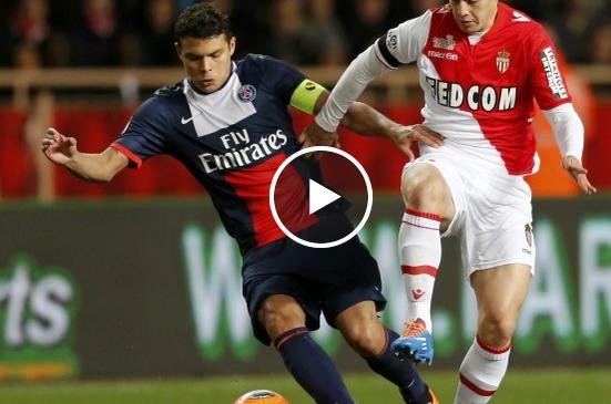 موناكو 1 - 1 باريس سان جيرمان