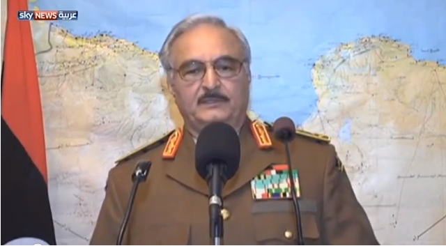 فشل انقلاب عسكري في ليبيا