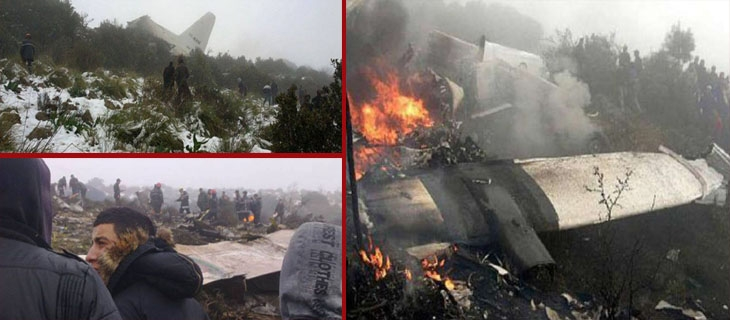 بالفيديو: تفاصيل تحطم الطائرة الجزائرية