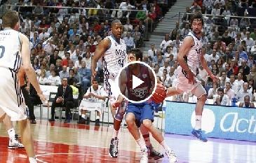 كلاسيكو ساخن في كرة السلة الريال والبارصا