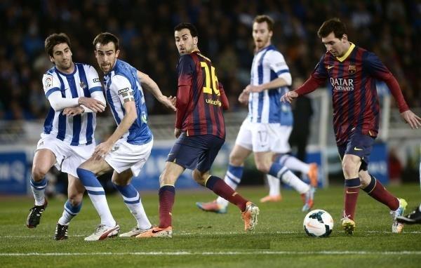برشلونة يتعرض لنكسة كروية كبيرة وينهزم أمام سوسيداد بثلاثة اهداف