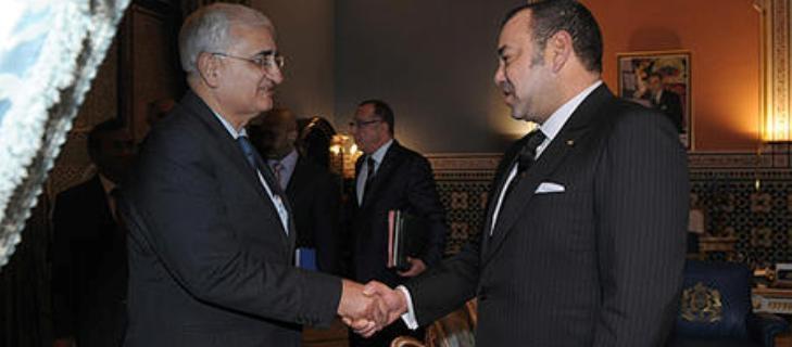 العاهل المغربي  يجدد  الموقف الثابت للمملكة  بشأن  احترام الوحدة الترابية للدول