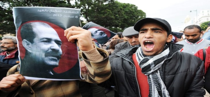 شكوك تشير إلى تورط داخلية تونس حول اغتيال بلعيد