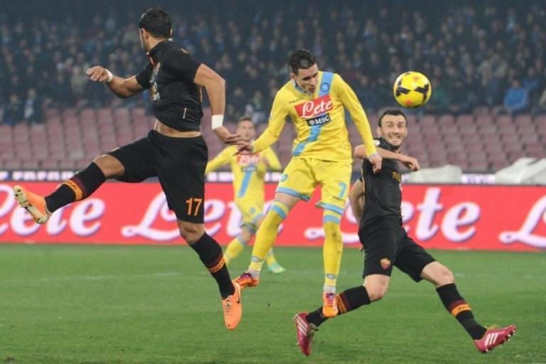 نابولي يسحق روما بثلاثية في نصف نهائي كأس ايطاليا