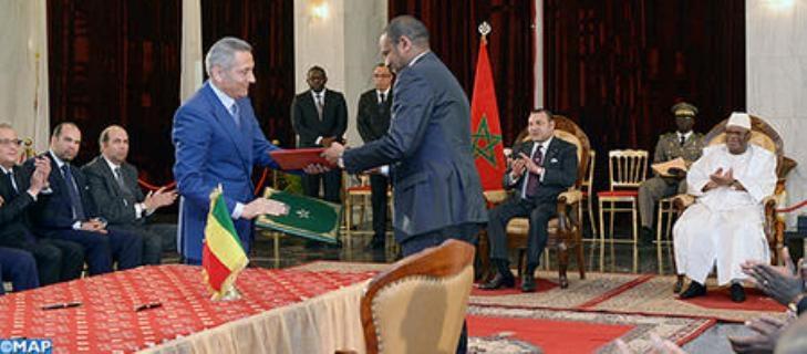 العاهل المغربي والرئيس المالي يرأسان مراسم التوقيع على 17 اتفاقية في مختلف مجالات التعاون الثنائي