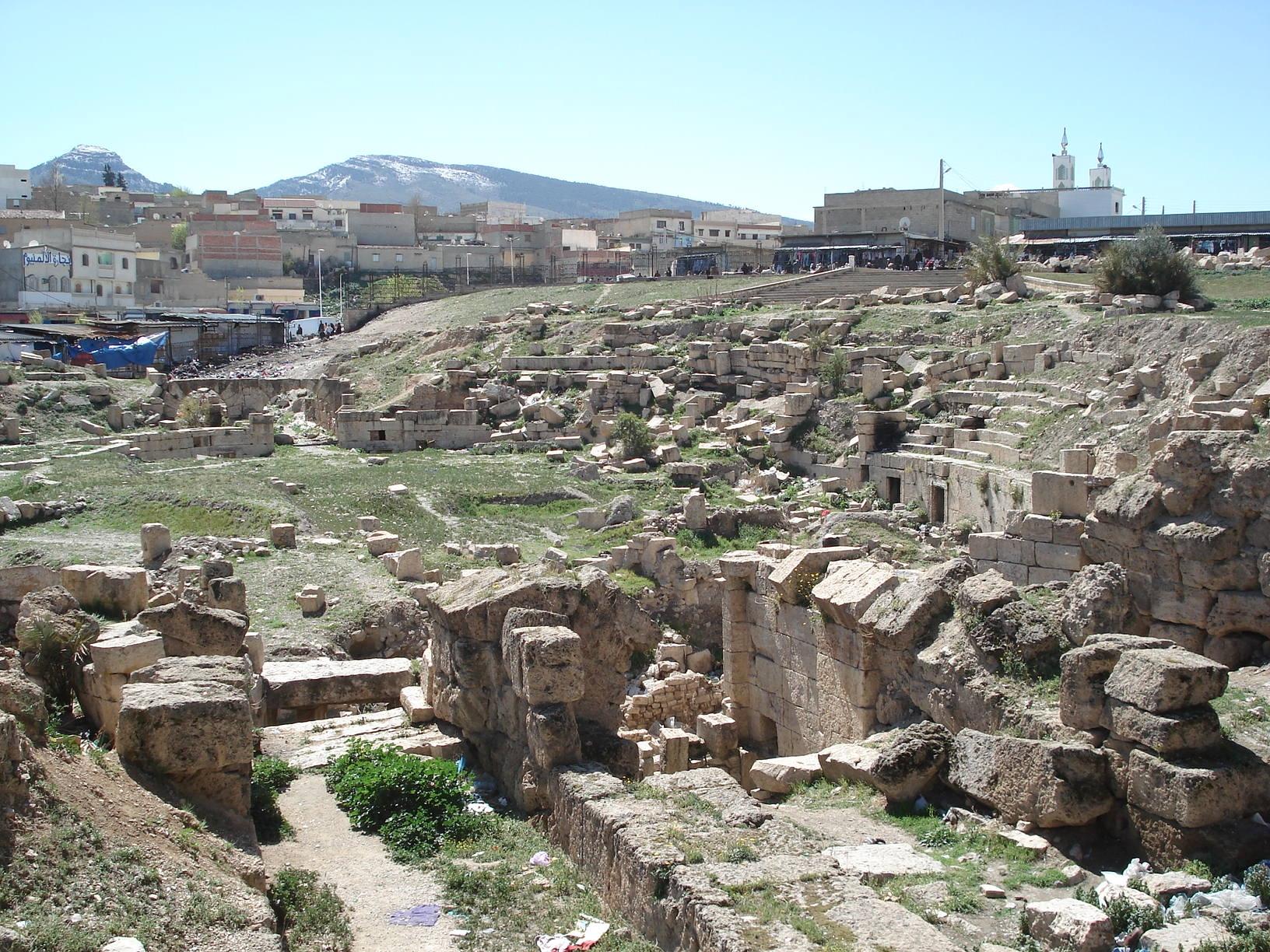 مشروع جديد لترميم المسرح الروماني بمدينة تبسة الجزائرية