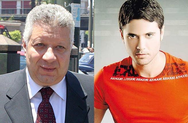 أحمد عز يوكل المحامي المثير للجدل مرتضى منصور في قضيته مع الممثلة زينة