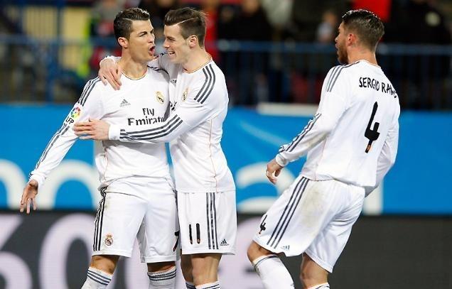 رونالدو يأهل الريال للمباراة النهائية لكأس اسبانيا في انتظار برشلونة