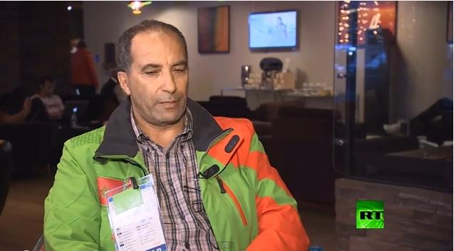 مشاركة المغرب بالألعاب الأولمبية الشتوية بسوتشي