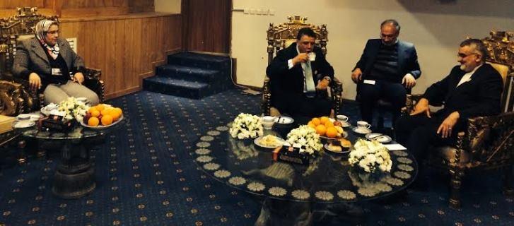 رئيس مجلس الشورى الإيراني ينوه بمشاركة الوفد المغربي في دورة اتحاد برلمانات الدول الإسلامية