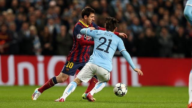 برشلونة يهزم مانشيستر سيتي بميدانه وامام جمهوره